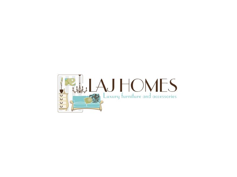 Logo Design by Private User - Entry No. 33 in the Logo Design Contest Unique Logo Design Wanted for LAJ home.