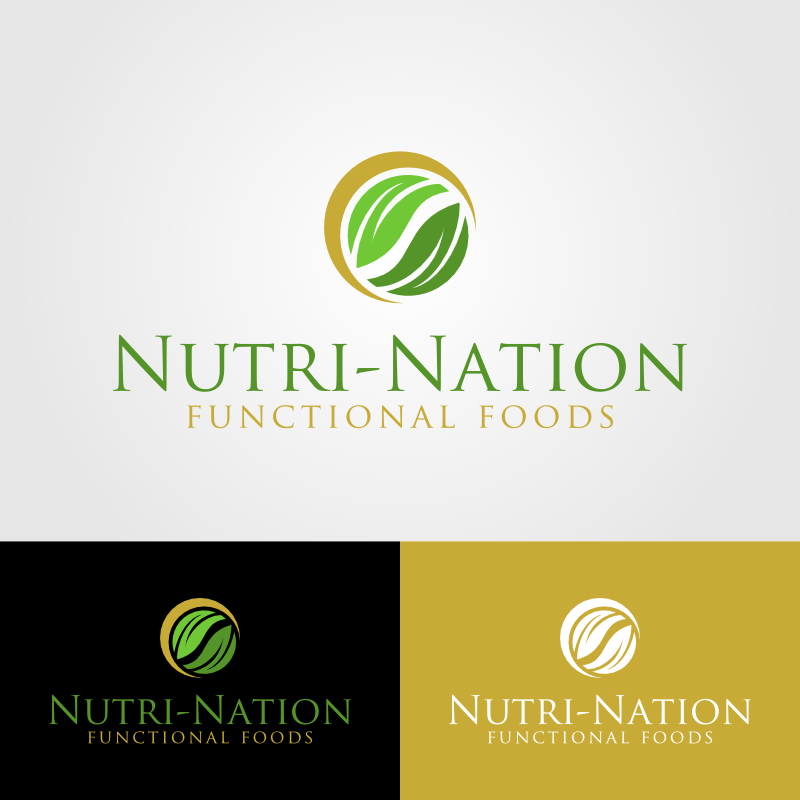 Logo Design by Andrean Susanto - Entry No. 78 in the Logo Design Contest Nutri-Nation Functional Foods Logo.