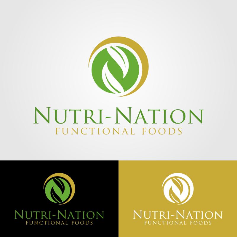 Logo Design by Andrean Susanto - Entry No. 80 in the Logo Design Contest Nutri-Nation Functional Foods Logo.