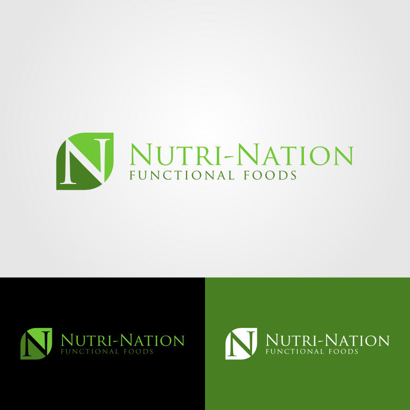 Logo Design by Andrean Susanto - Entry No. 82 in the Logo Design Contest Nutri-Nation Functional Foods Logo.