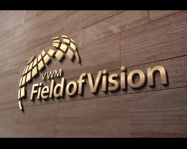 Logo Design by Devon Renandy - Entry No. 39 in the Logo Design Contest Field of Vision - VWM Logo Design.