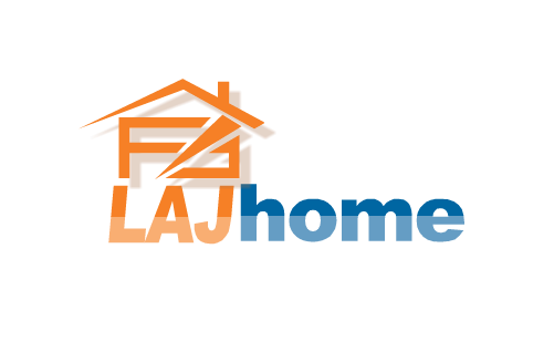 Logo Design by Waqar Ahmed - Entry No. 60 in the Logo Design Contest Unique Logo Design Wanted for LAJ home.