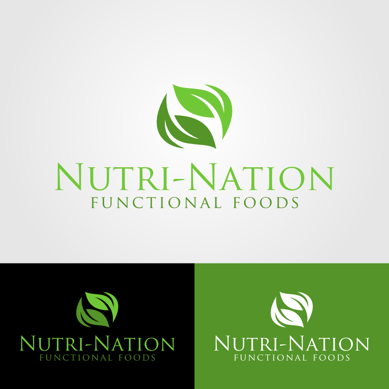 Logo Design by Andrean Susanto - Entry No. 83 in the Logo Design Contest Nutri-Nation Functional Foods Logo.
