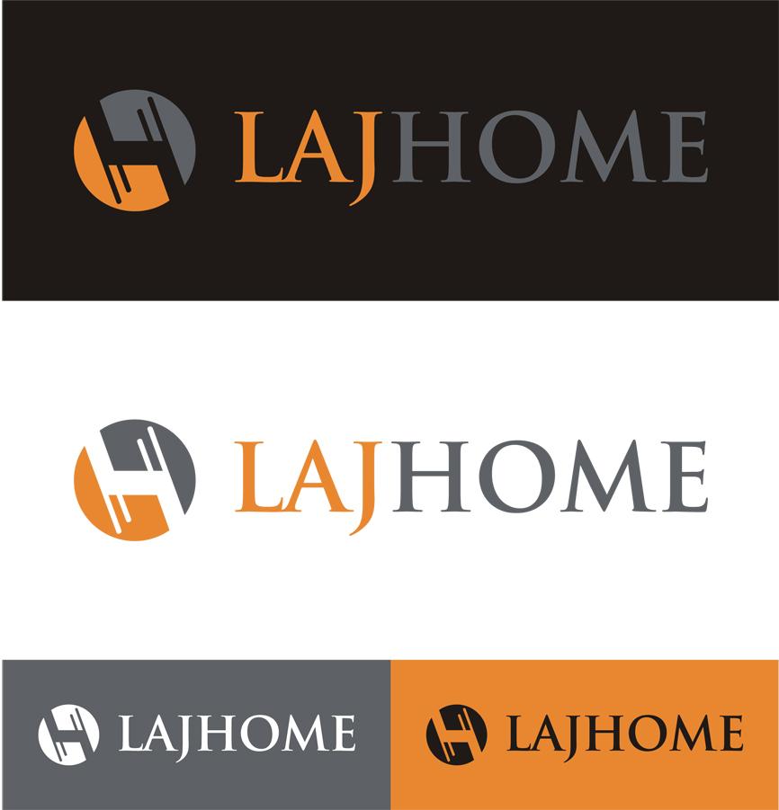 Logo Design by RasYa Muhammad Athaya - Entry No. 86 in the Logo Design Contest Unique Logo Design Wanted for LAJ home.