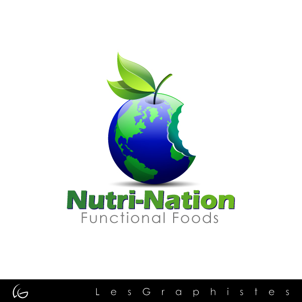 Logo Design by Les-Graphistes - Entry No. 87 in the Logo Design Contest Nutri-Nation Functional Foods Logo.