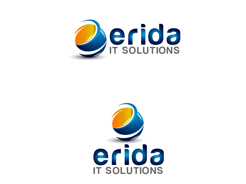 Logo Design by Private User - Entry No. 9 in the Logo Design Contest Inspiring Logo design for Erida it solutions.