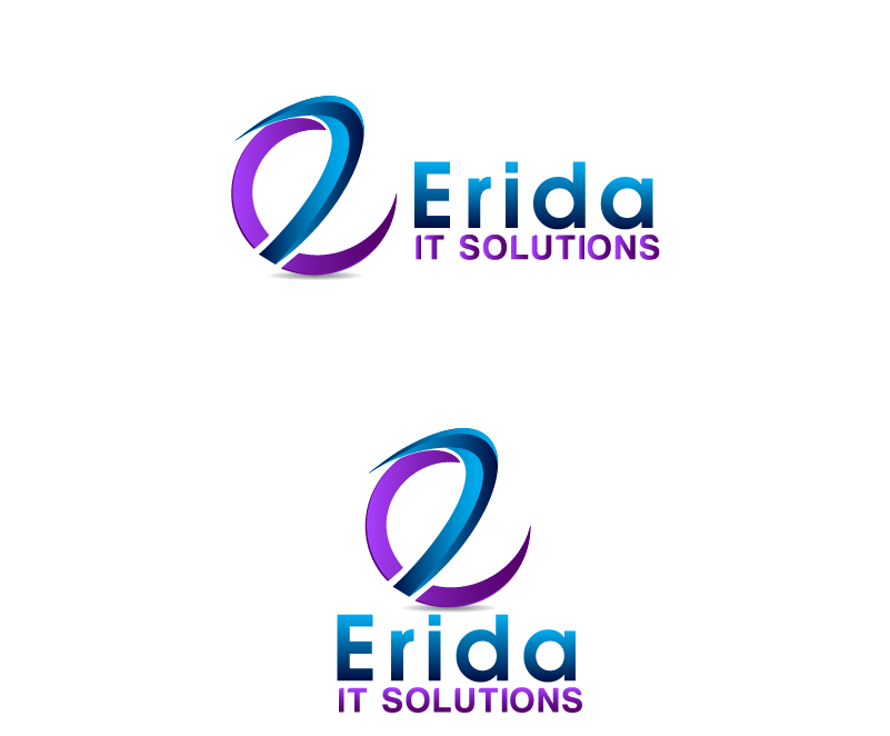 Logo Design by brands_in - Entry No. 13 in the Logo Design Contest Inspiring Logo design for Erida it solutions.
