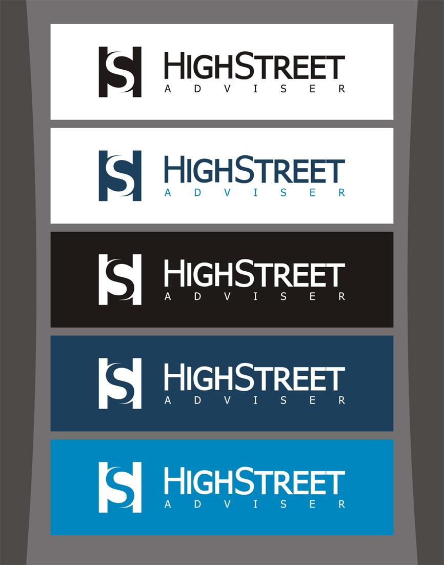 Logo Design by RasYa Muhammad Athaya - Entry No. 64 in the Logo Design Contest Fun Logo Design for HighStreet Adviser.
