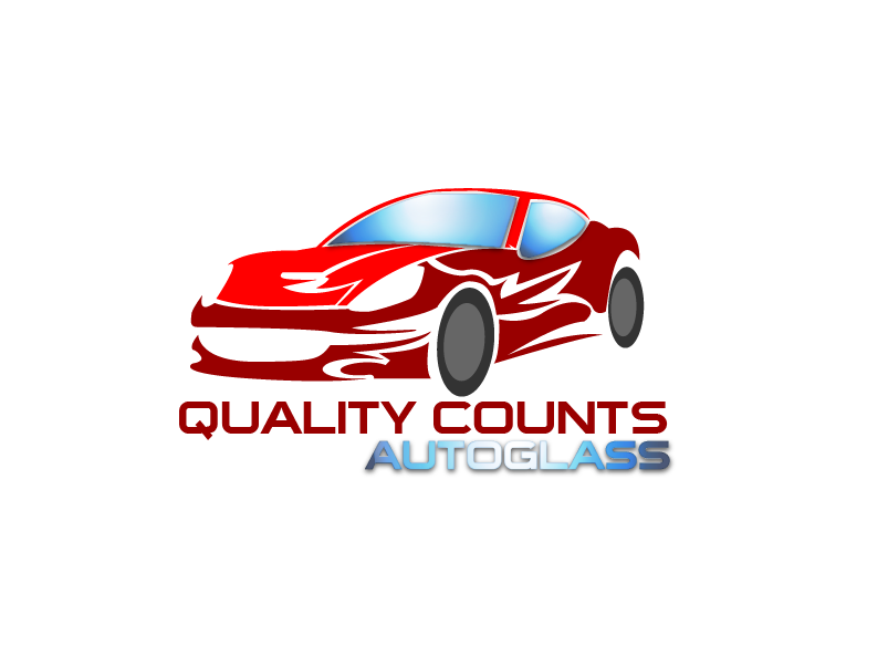 Logo Design by Private User - Entry No. 10 in the Logo Design Contest New Logo Design for Quality Counts Auto Glass.
