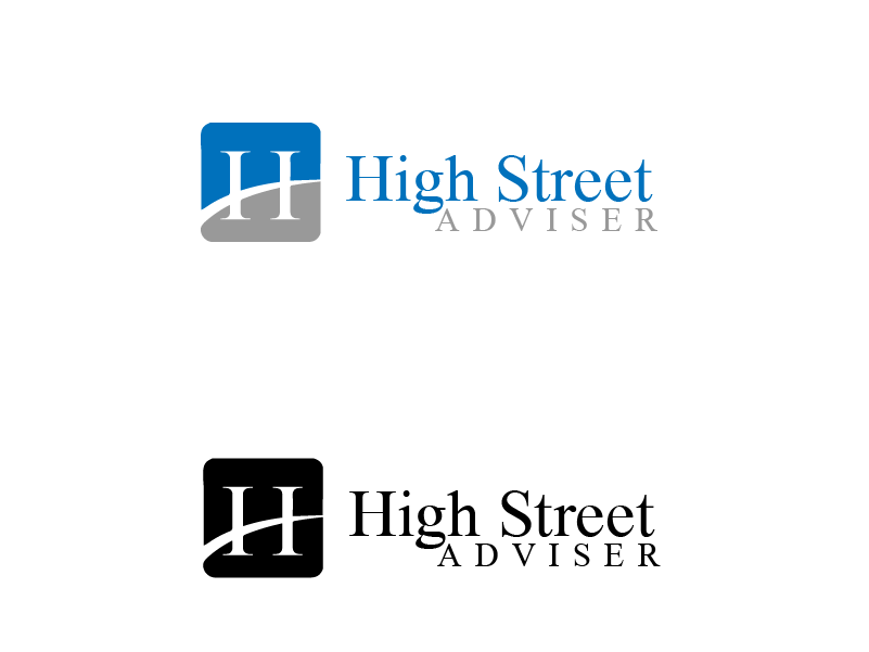 Logo Design by Private User - Entry No. 113 in the Logo Design Contest Fun Logo Design for HighStreet Adviser.