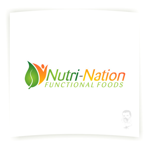 Logo Design by Private User - Entry No. 101 in the Logo Design Contest Nutri-Nation Functional Foods Logo.