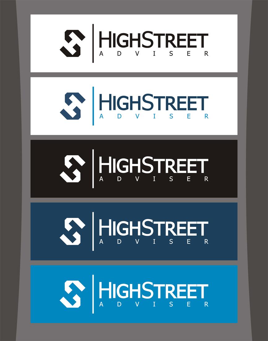 Logo Design by RasYa Muhammad Athaya - Entry No. 126 in the Logo Design Contest Fun Logo Design for HighStreet Adviser.