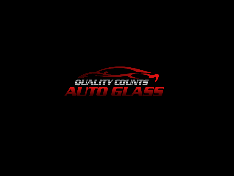 Logo Design by Private User - Entry No. 39 in the Logo Design Contest New Logo Design for Quality Counts Auto Glass.