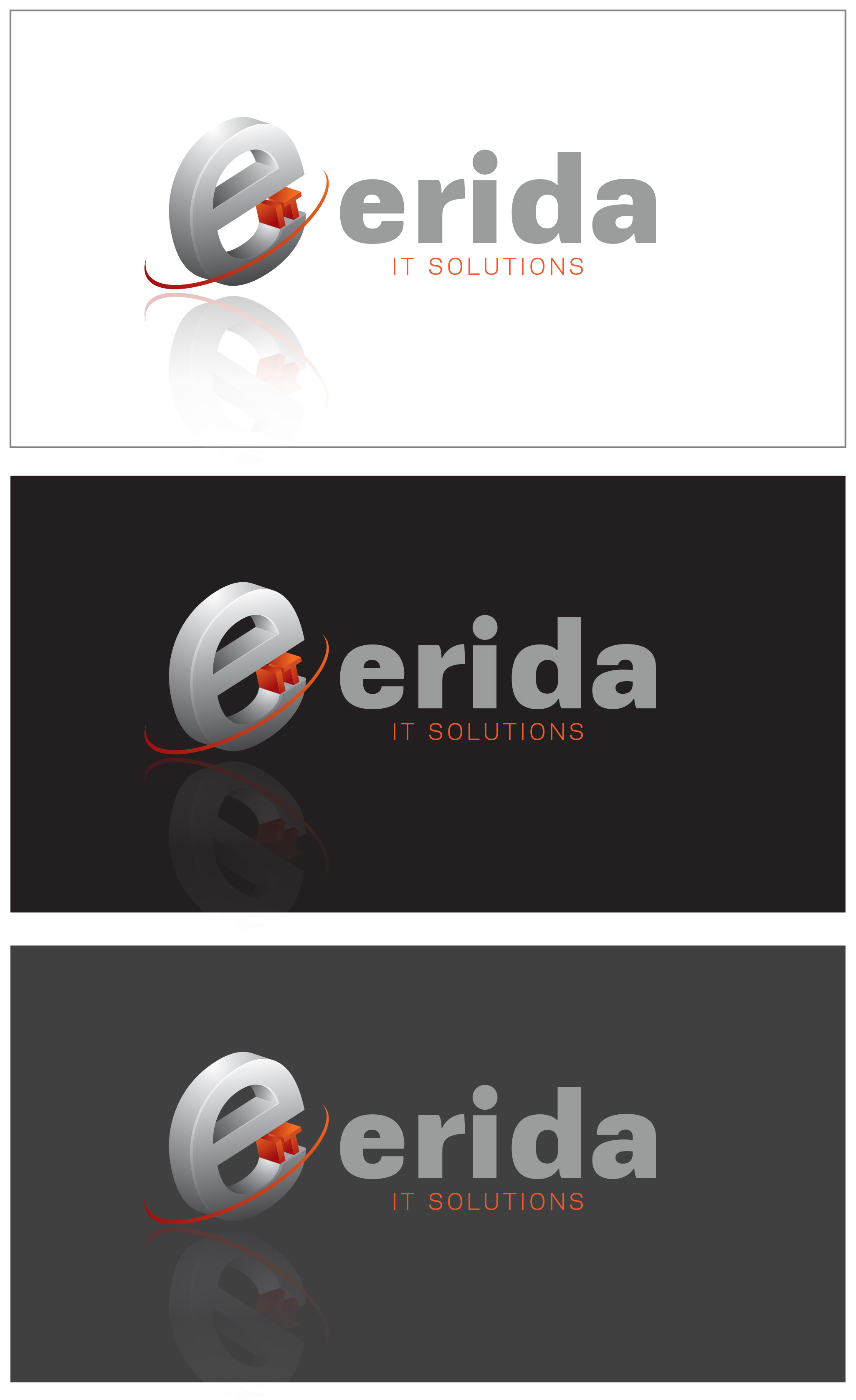 Logo Design by Roza Apostolska - Entry No. 84 in the Logo Design Contest Inspiring Logo design for Erida it solutions.