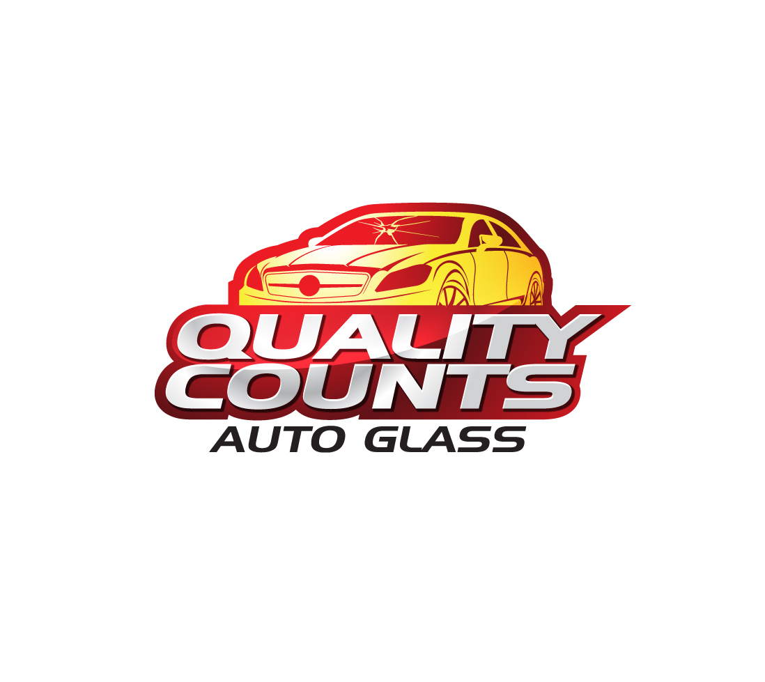Logo Design by pandisenyo - Entry No. 59 in the Logo Design Contest New Logo Design for Quality Counts Auto Glass.