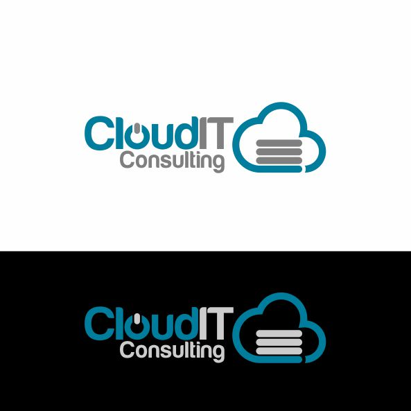 Logo Design by Narendra Setya - Entry No. 34 in the Logo Design Contest Captivating Logo Design for Cloud IT Consulting.