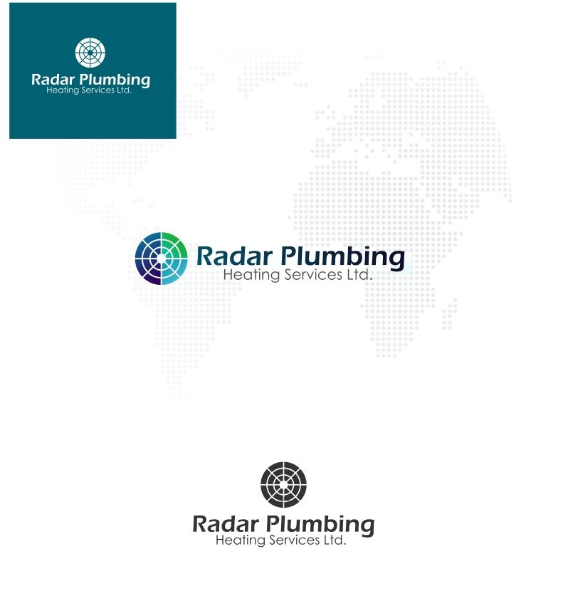Logo Design by Private User - Entry No. 5 in the Logo Design Contest Inspiring Logo Design for Radar Plumbing & Heating Services Ltd..
