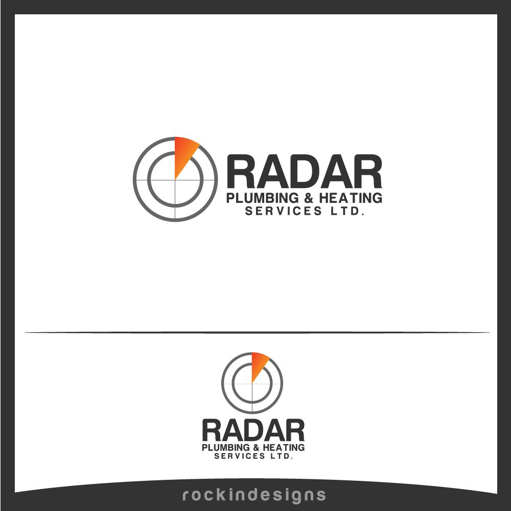 Logo Design by rockin - Entry No. 7 in the Logo Design Contest Inspiring Logo Design for Radar Plumbing & Heating Services Ltd..