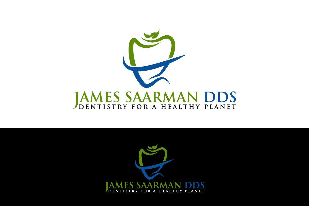 Logo Design by Raheel Baloch - Entry No. 35 in the Logo Design Contest Unique Logo Design Wanted for James Saarman DDS.