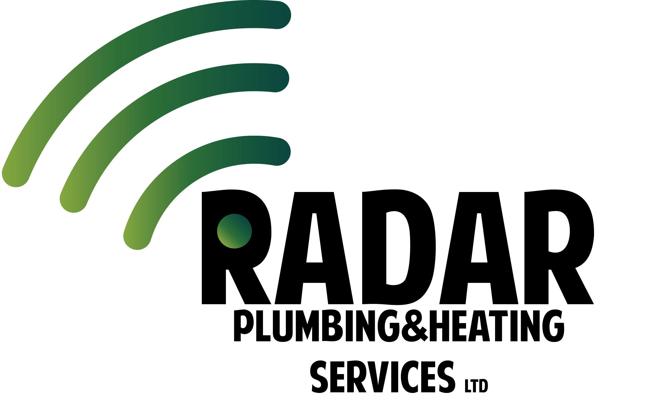 Logo Design by Private User - Entry No. 12 in the Logo Design Contest Inspiring Logo Design for Radar Plumbing & Heating Services Ltd..