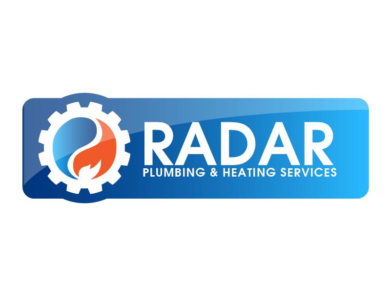 Logo Design by Private User - Entry No. 17 in the Logo Design Contest Inspiring Logo Design for Radar Plumbing & Heating Services Ltd..