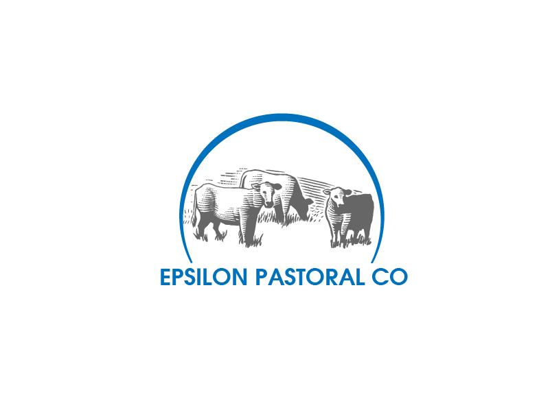 Logo Design by Private User - Entry No. 2 in the Logo Design Contest Imaginative Logo Design for EPSILON PASTORAL CO.