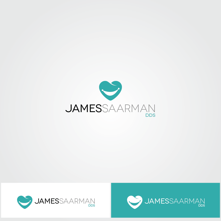 Logo Design by zesthar - Entry No. 53 in the Logo Design Contest Unique Logo Design Wanted for James Saarman DDS.