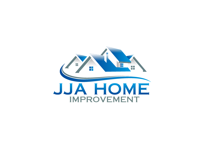 Logo Design by brands_in - Entry No. 46 in the Logo Design Contest JJA Home Improvement  Logo Design.