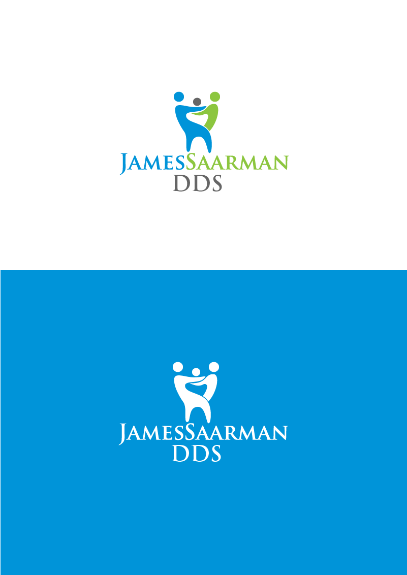 Logo Design by Private User - Entry No. 64 in the Logo Design Contest Unique Logo Design Wanted for James Saarman DDS.