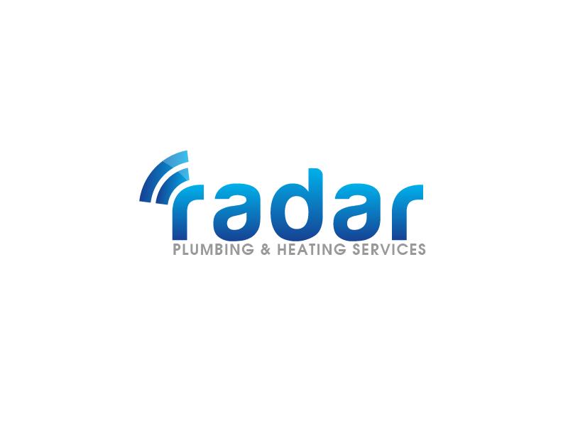 Logo Design by Private User - Entry No. 29 in the Logo Design Contest Inspiring Logo Design for Radar Plumbing & Heating Services Ltd..