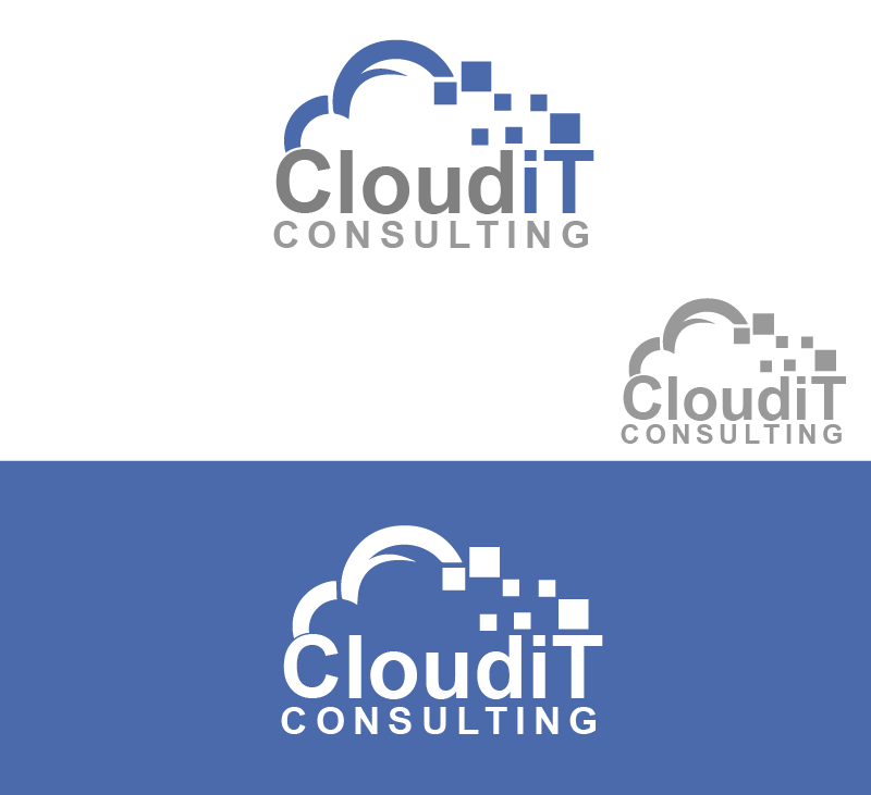 Logo Design by Private User - Entry No. 82 in the Logo Design Contest Captivating Logo Design for Cloud IT Consulting.