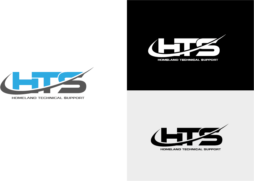 Logo Design by roc - Entry No. 7 in the Logo Design Contest Captivating Logo Design for Homeland Technical Support.