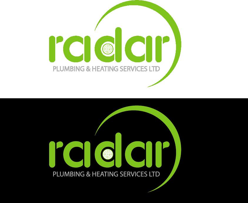 Logo Design by Private User - Entry No. 50 in the Logo Design Contest Inspiring Logo Design for Radar Plumbing & Heating Services Ltd..