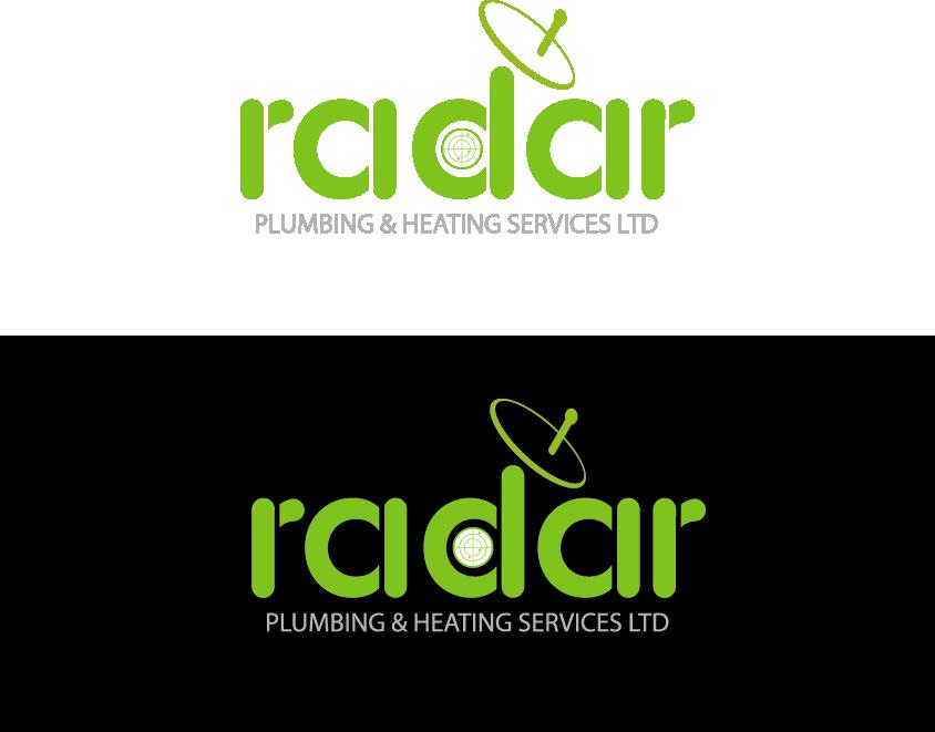 Logo Design by Private User - Entry No. 51 in the Logo Design Contest Inspiring Logo Design for Radar Plumbing & Heating Services Ltd..
