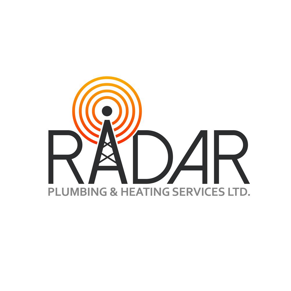 Logo Design by Robert Turla - Entry No. 53 in the Logo Design Contest Inspiring Logo Design for Radar Plumbing & Heating Services Ltd..