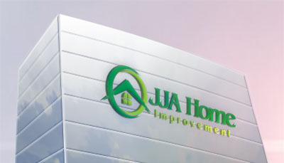 Logo Design by Qul-qul Kikuk - Entry No. 75 in the Logo Design Contest JJA Home Improvement  Logo Design.