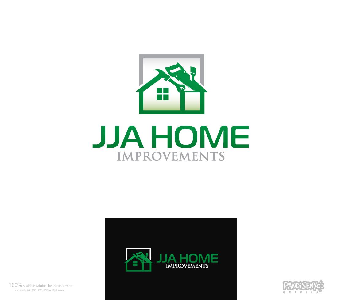 Logo Design by pandisenyo - Entry No. 82 in the Logo Design Contest JJA Home Improvement  Logo Design.