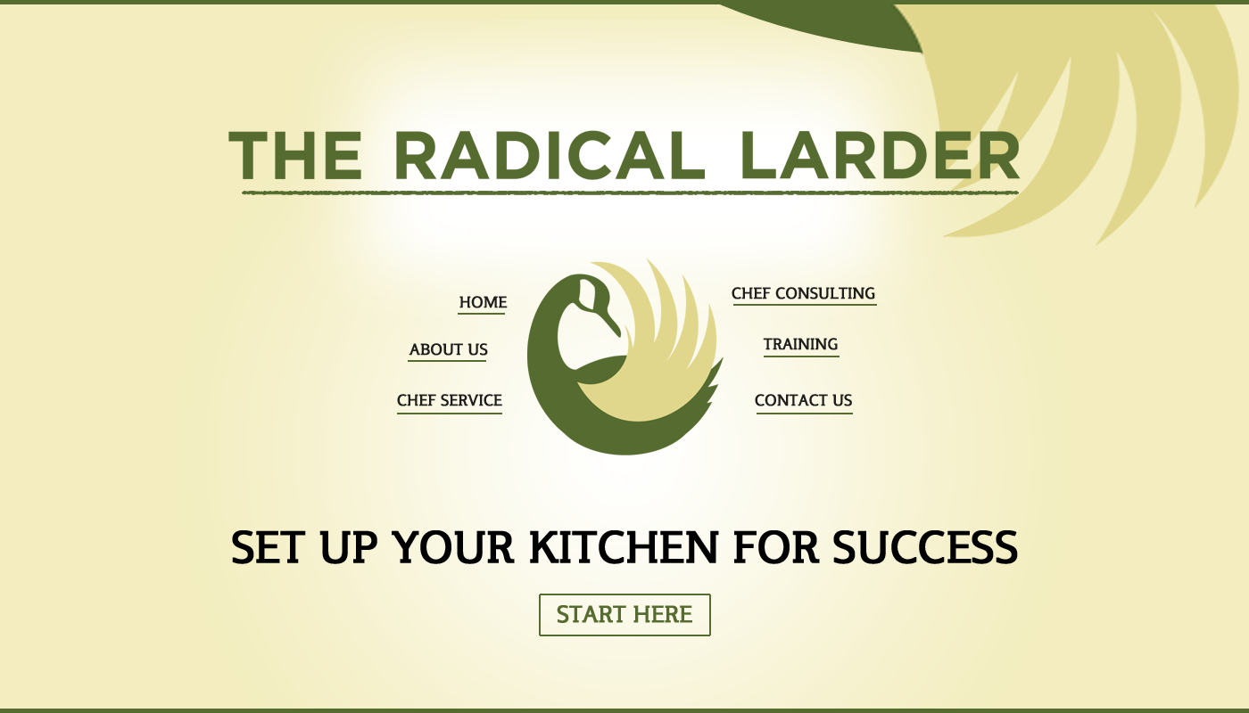 Web Page Design by webexprtz - Entry No. 71 in the Web Page Design Contest The Radical Larder Web Page Design.