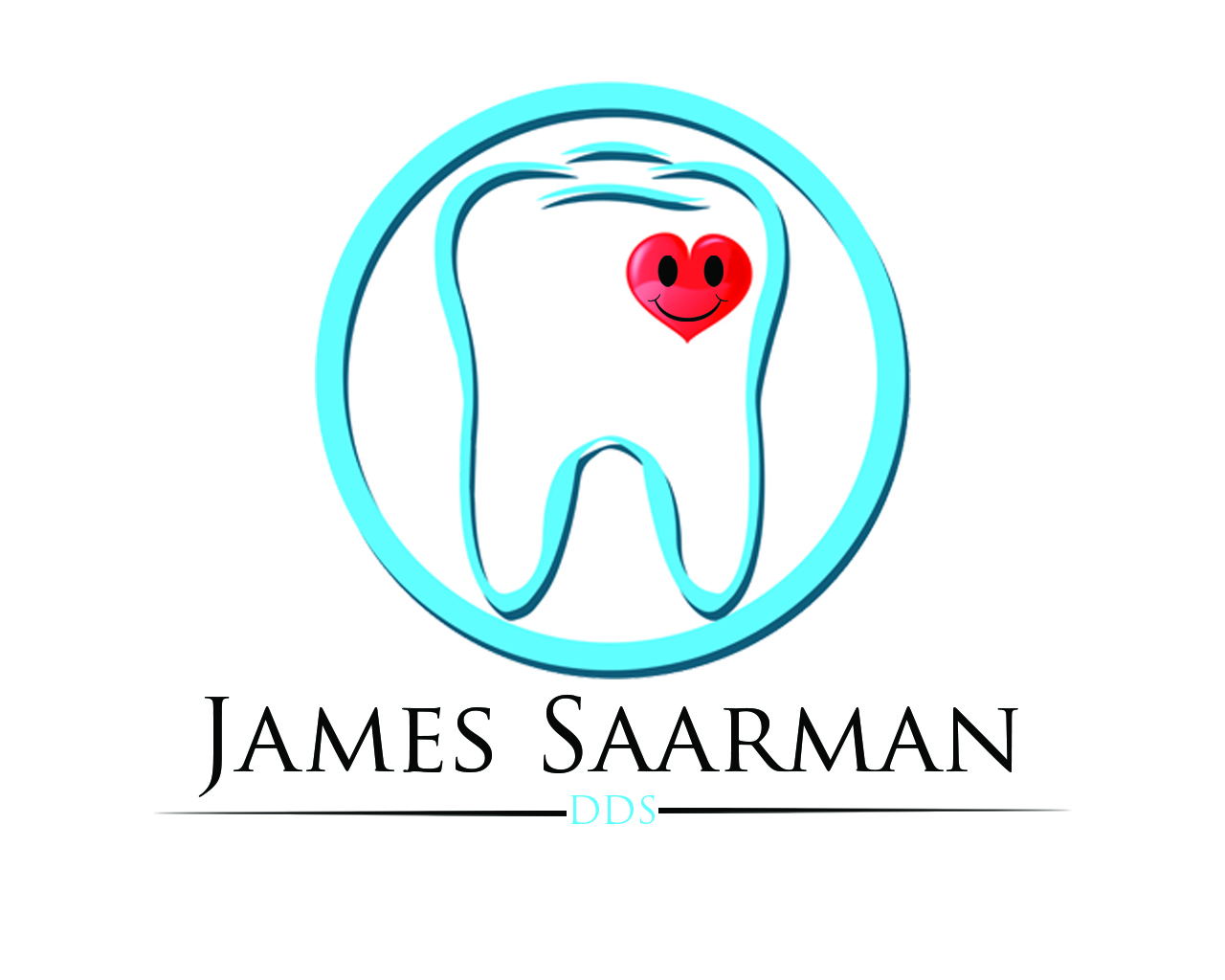 Logo Design by Aljohn Mana-ay - Entry No. 90 in the Logo Design Contest Unique Logo Design Wanted for James Saarman DDS.