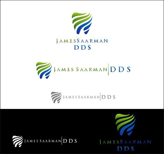 Logo Design by Armada Jamaluddin - Entry No. 92 in the Logo Design Contest Unique Logo Design Wanted for James Saarman DDS.