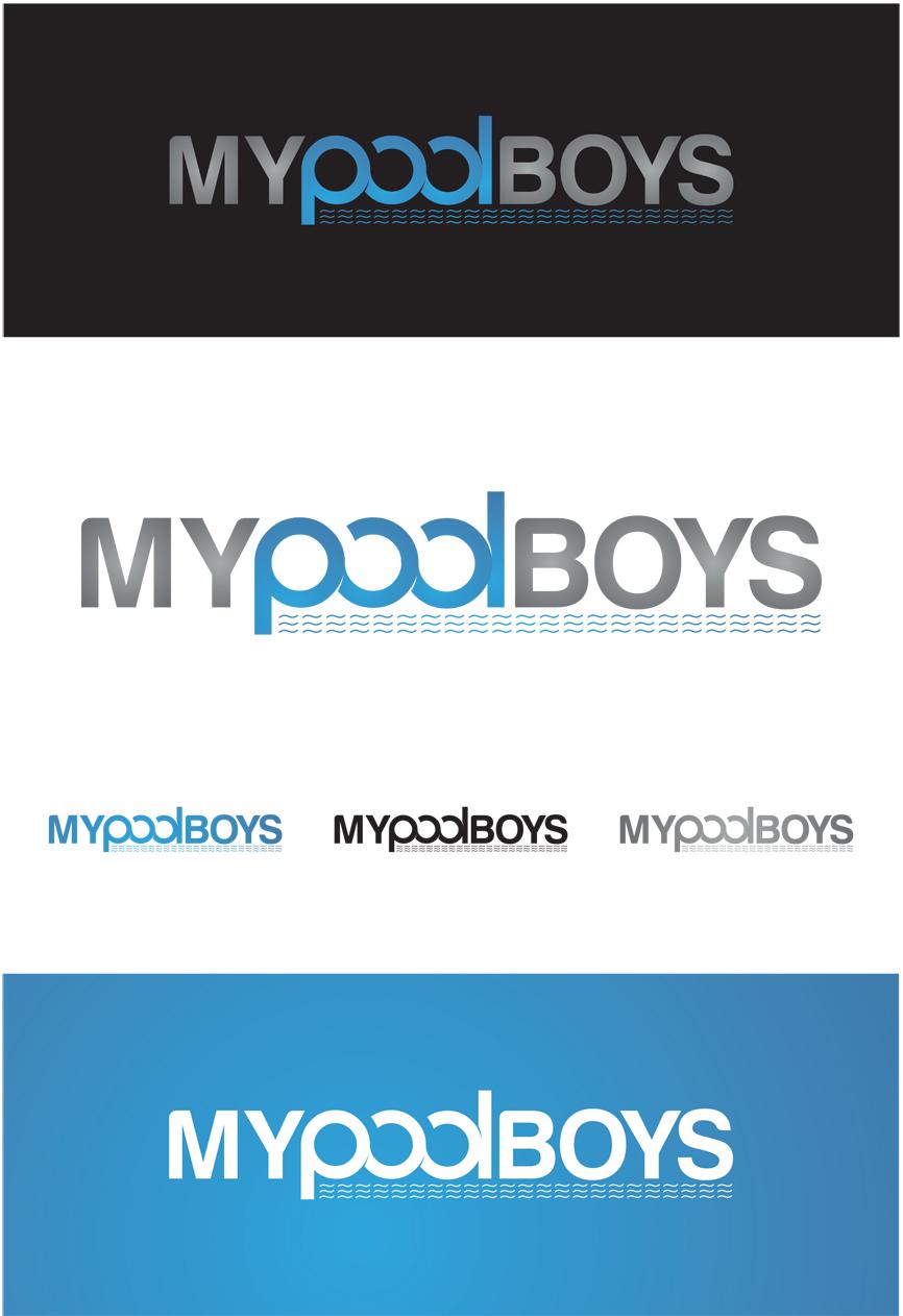 Logo Design by RasYa Muhammad Athaya - Entry No. 67 in the Logo Design Contest Artistic Logo Design for MyPoolBoys.