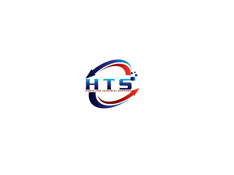 Logo Design by Private User - Entry No. 43 in the Logo Design Contest Captivating Logo Design for Homeland Technical Support.