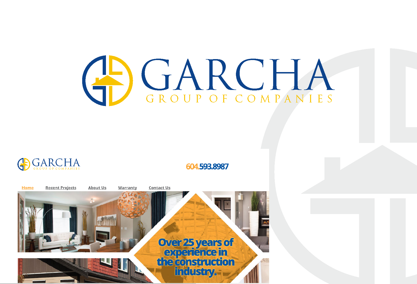 Logo Design by Private User - Entry No. 53 in the Logo Design Contest New Logo Design for Garcha Group of Companies.