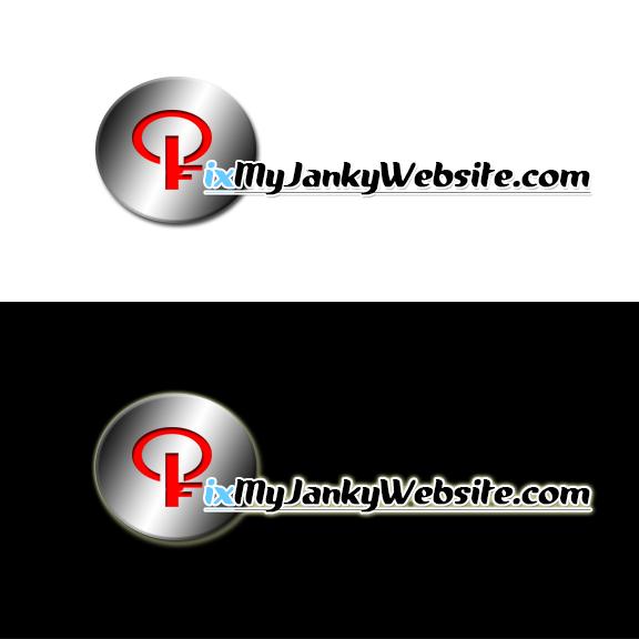 Logo Design by John Emmanuel Genoguin - Entry No. 9 in the Logo Design Contest Artistic Logo Design for FixMyJankyWebsite.com.
