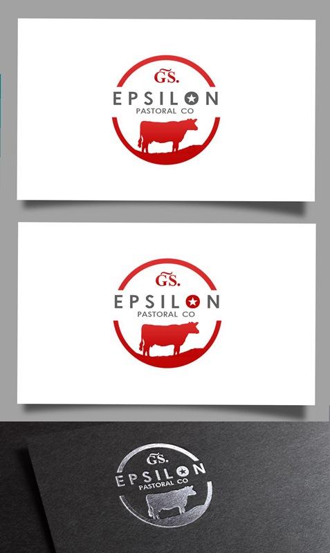 Logo Design by Fita Tiara Sani - Entry No. 101 in the Logo Design Contest Imaginative Logo Design for EPSILON PASTORAL CO.