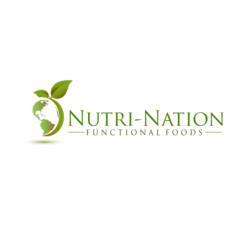 Logo Design by moonflower - Entry No. 125 in the Logo Design Contest Nutri-Nation Functional Foods Logo.
