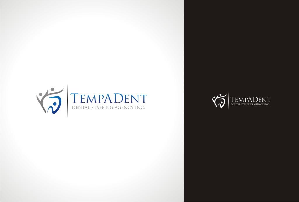Logo Design by Gemboz Art - Entry No. 8 in the Logo Design Contest Artistic Logo Design for TempADent Dental Staffing Agency Inc..