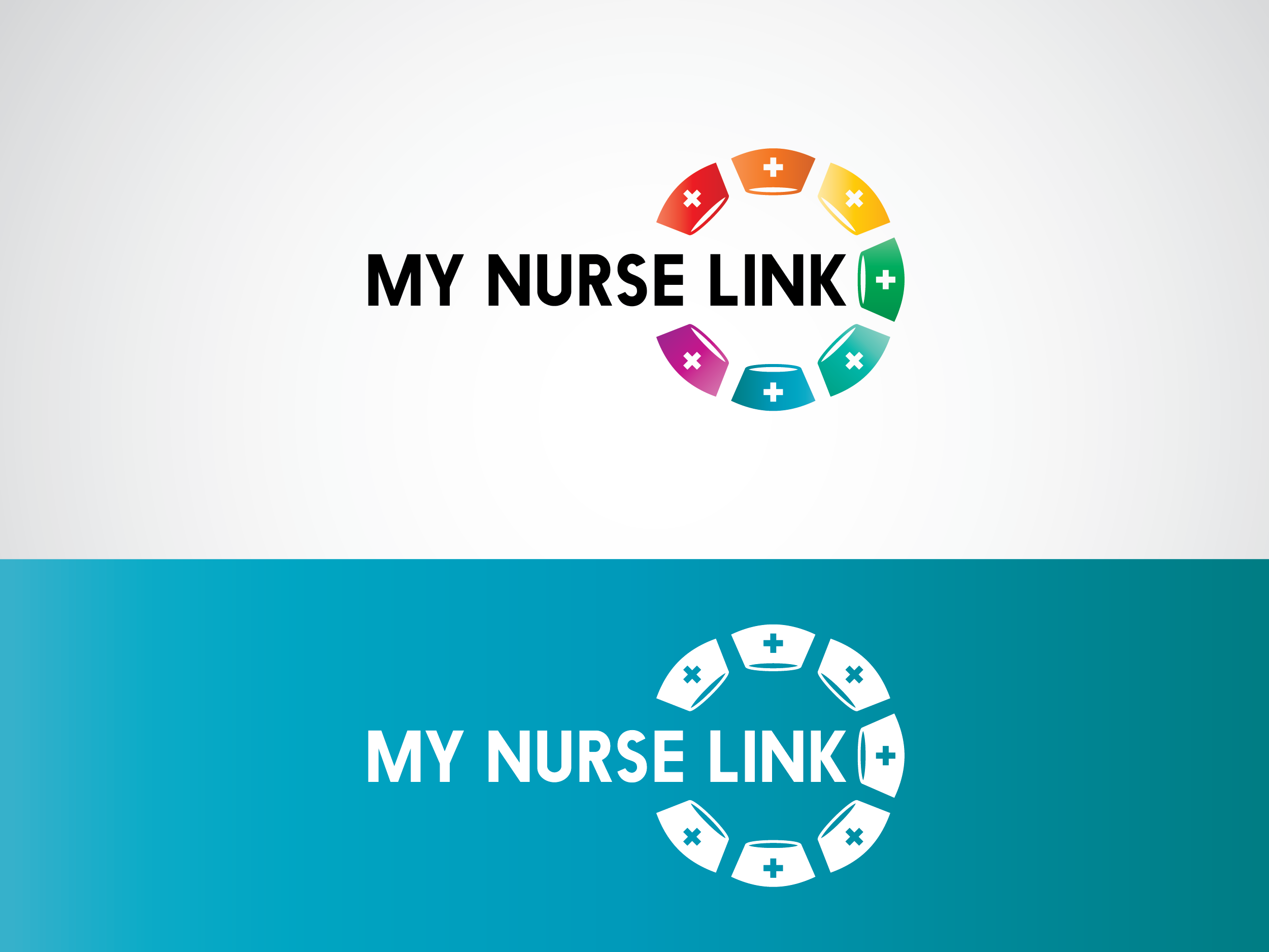 Logo Design by Shahab Uddin - Entry No. 6 in the Logo Design Contest Imaginative Logo Design for MyNurseLink.