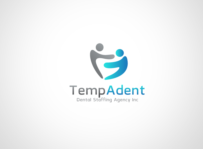 Logo Design by Jan Chua - Entry No. 16 in the Logo Design Contest Artistic Logo Design for TempADent Dental Staffing Agency Inc..