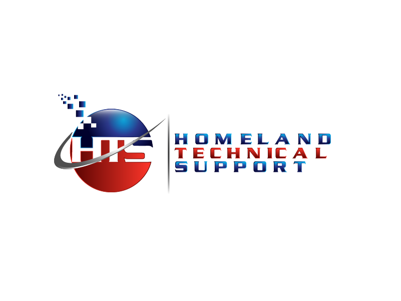 Logo Design by Private User - Entry No. 70 in the Logo Design Contest Captivating Logo Design for Homeland Technical Support.